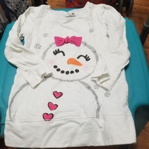 Snowgirl Long Sleeve Tunic